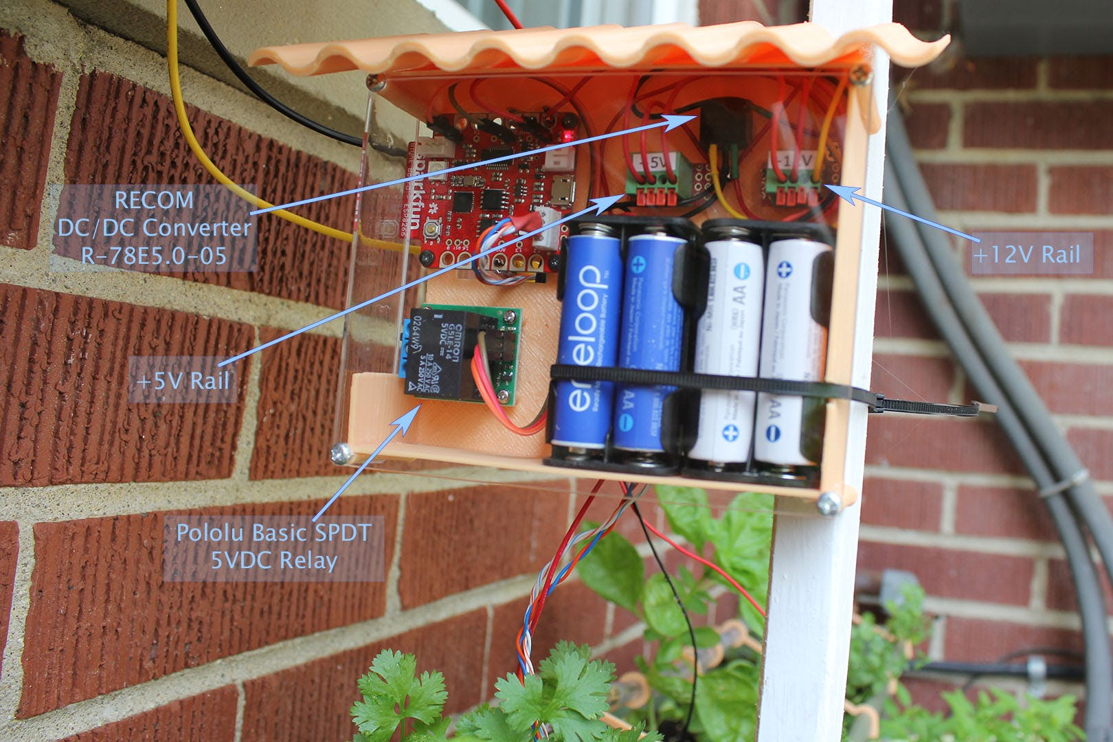 Smart Modular Watering System assembled