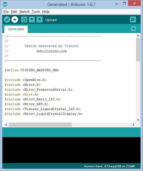 Arduino: GPS Display Location on I2C 2x16 LCD with Visuino