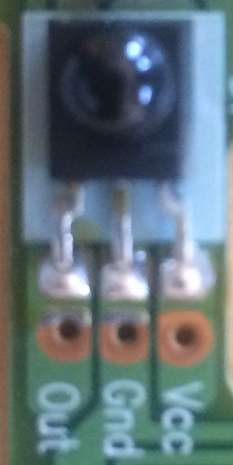 TSOP 8483 IR Reciever
