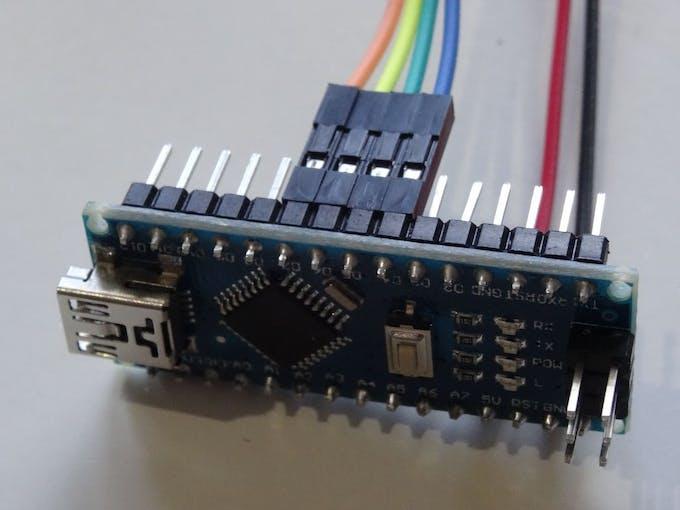 Arduino Nano And Visuino Control Stepper Motor With