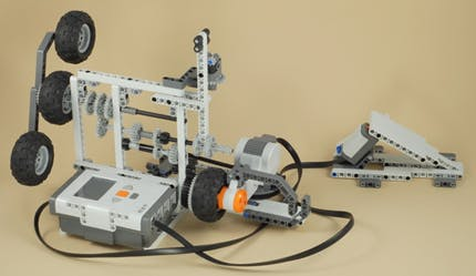 Basic 3 Speed Transmission using Lego Mindstorm