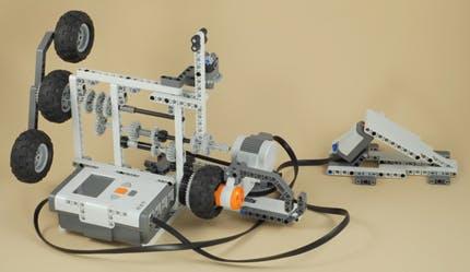 Basic 3 Speed Transmission using Lego Mindstorm