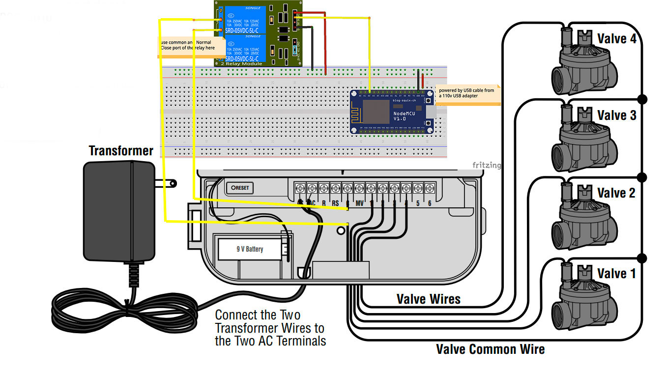 wiring diagram for intermatic t8845pv timer irrigation