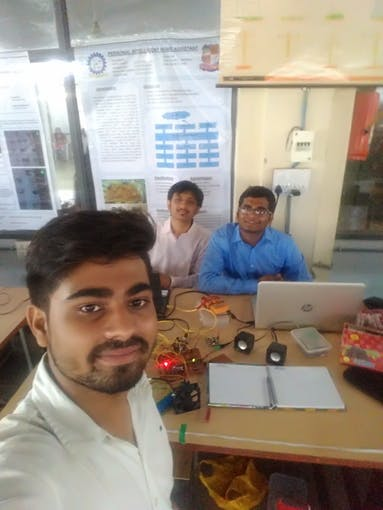 Project Presentation at VGEC,Chandkheda with Viraj Rawal & Jainam Shah