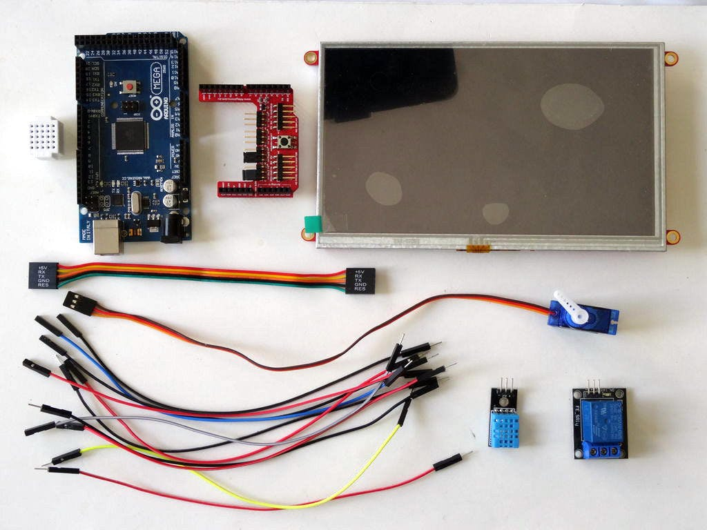 Arduino Connect 4d Systems Visi Genie Smart Display Pro Max Circuit Board Wiring Diagram