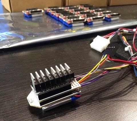 How many MOSFETS can dance atop a protoboard?