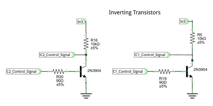 Inverting Transistors