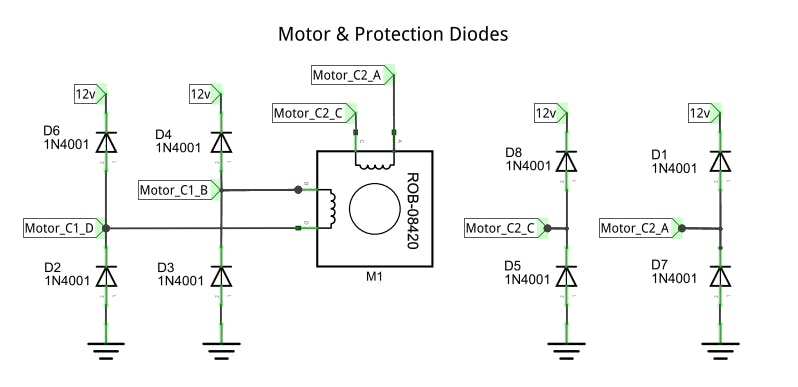 Motor & Protection Diodes