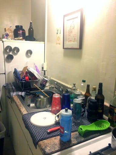 Sink and Dishes