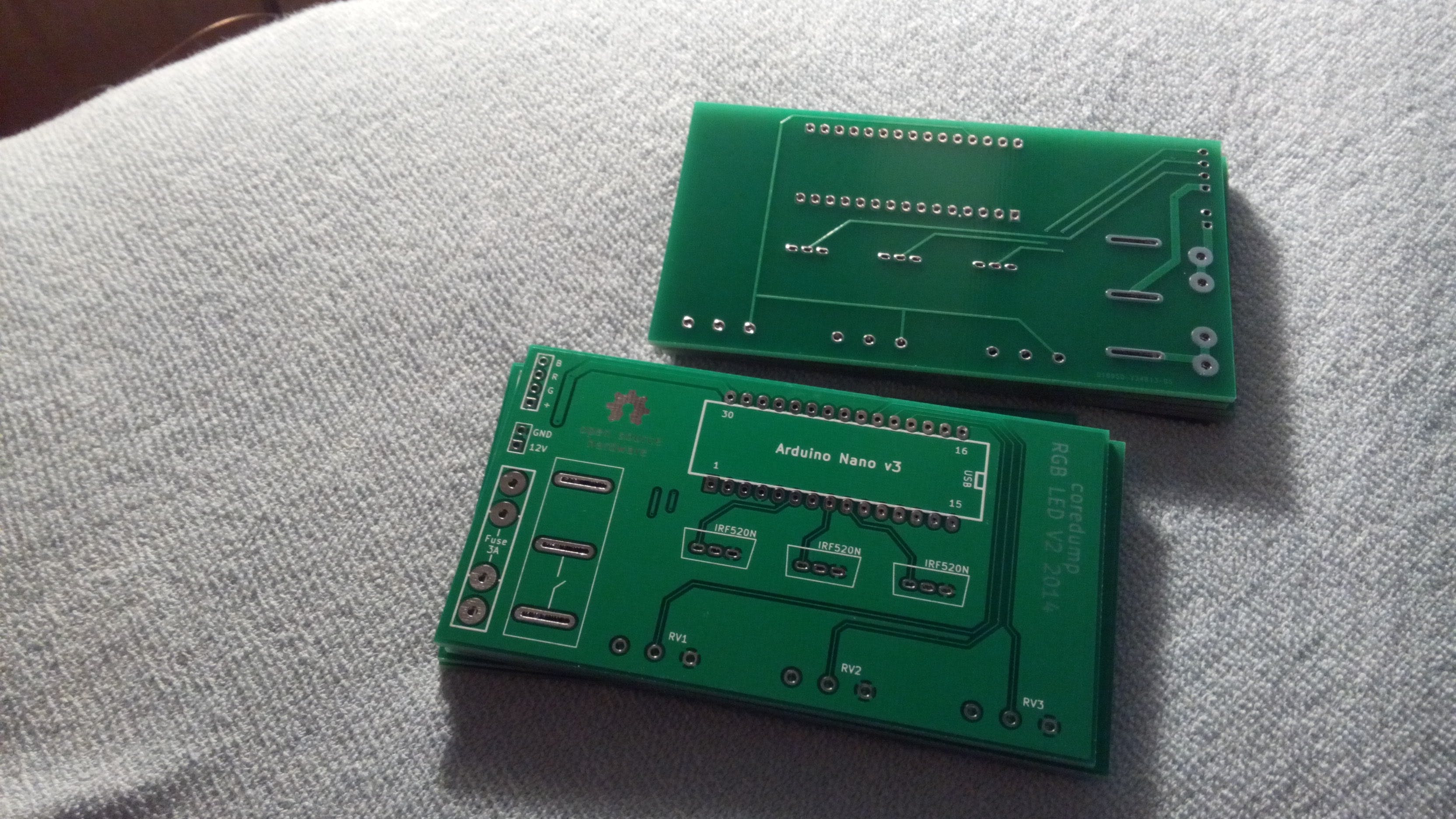 The PCBs arrived!