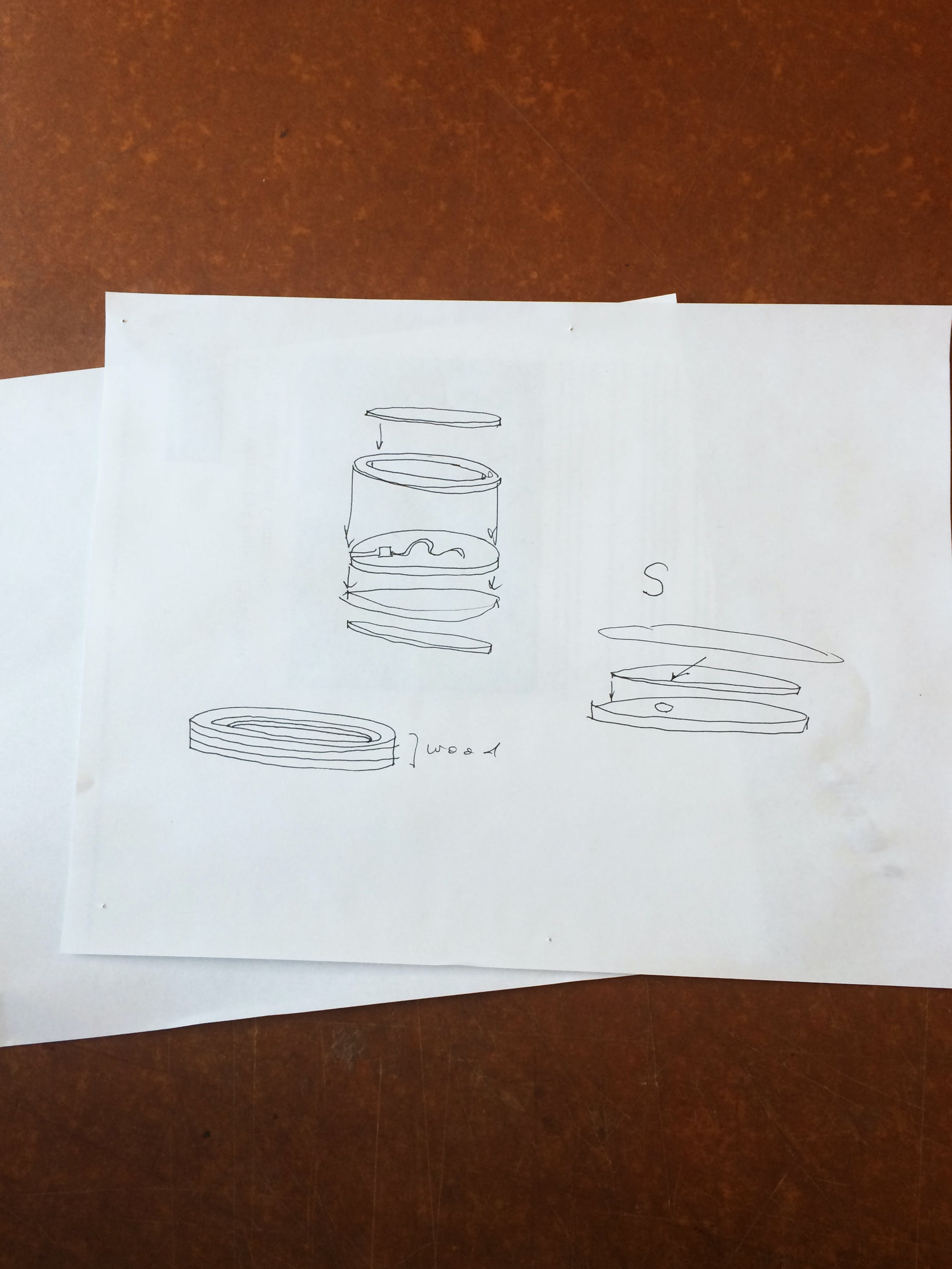 Quick sketches to direct fabrication method