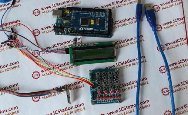 Wireless DC motor control circuit using RF module 434