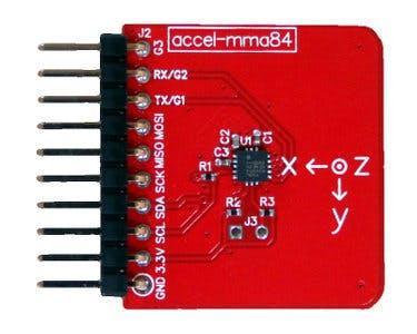 Accelerometer Module for Tessel