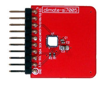 Climate Module for Tessel
