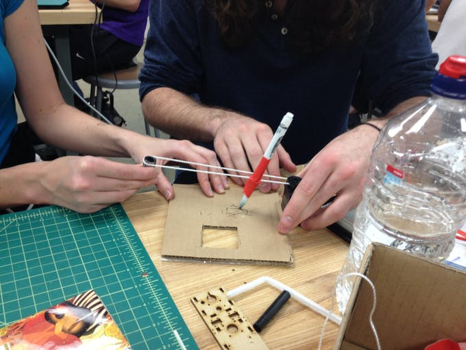 Prototyping an XY-plotter