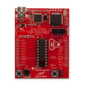 Texas Instruments MSP-EXP430G2 MSP430 LaunchPad projects