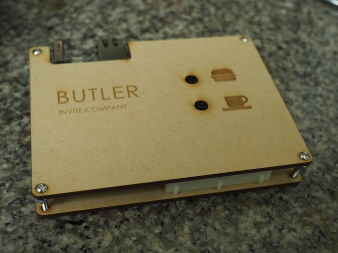 Meet Butler: text to voice features to invite company over.