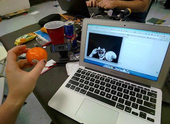 Webcam working!