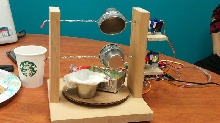 The tiny cheese making device