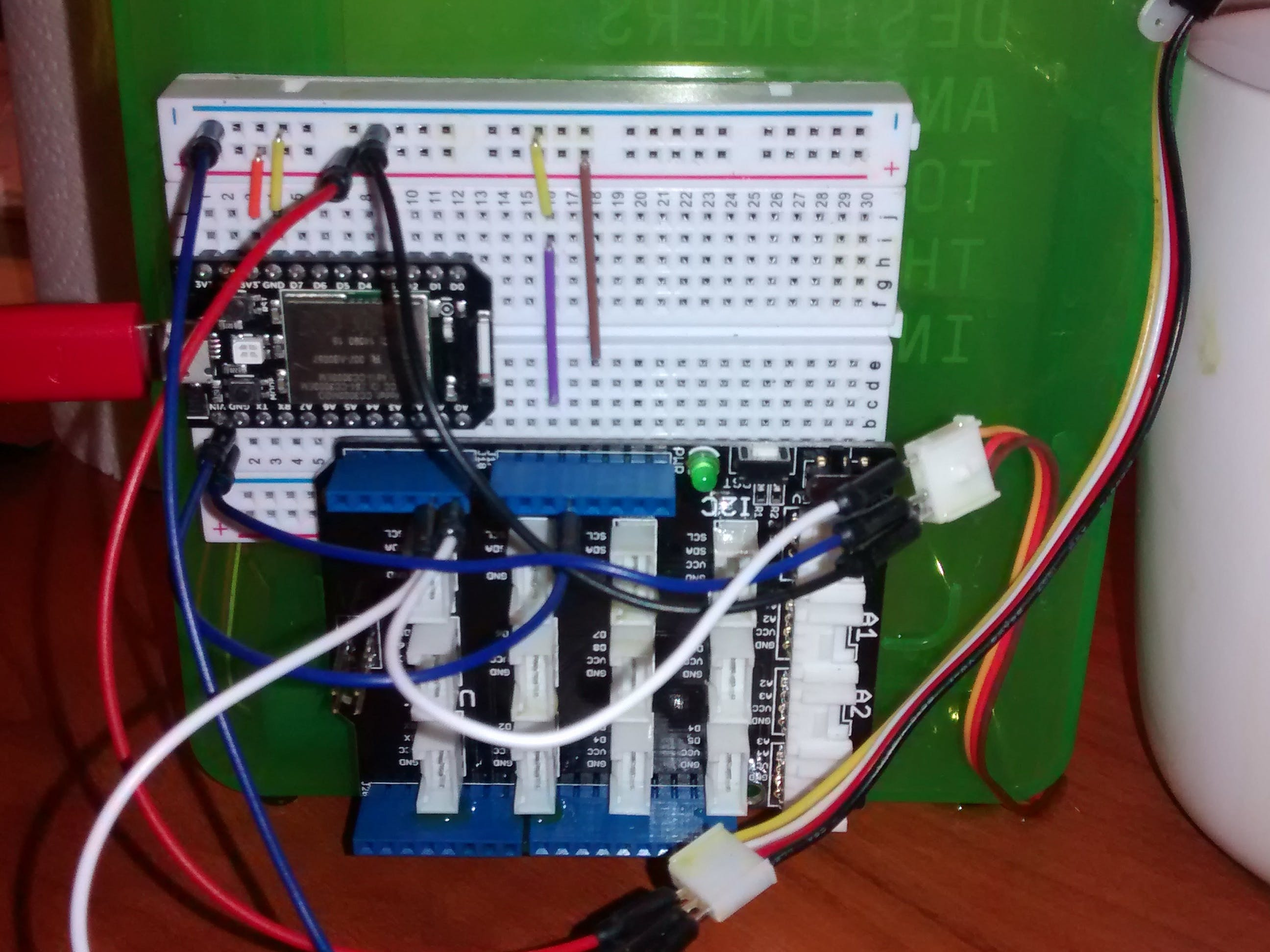 Spark Core with Grove Shield
