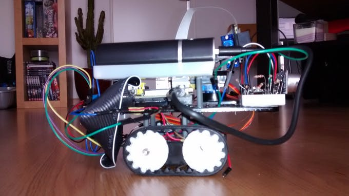 Dum Bot Raspberry Pi Robot Hackster Io