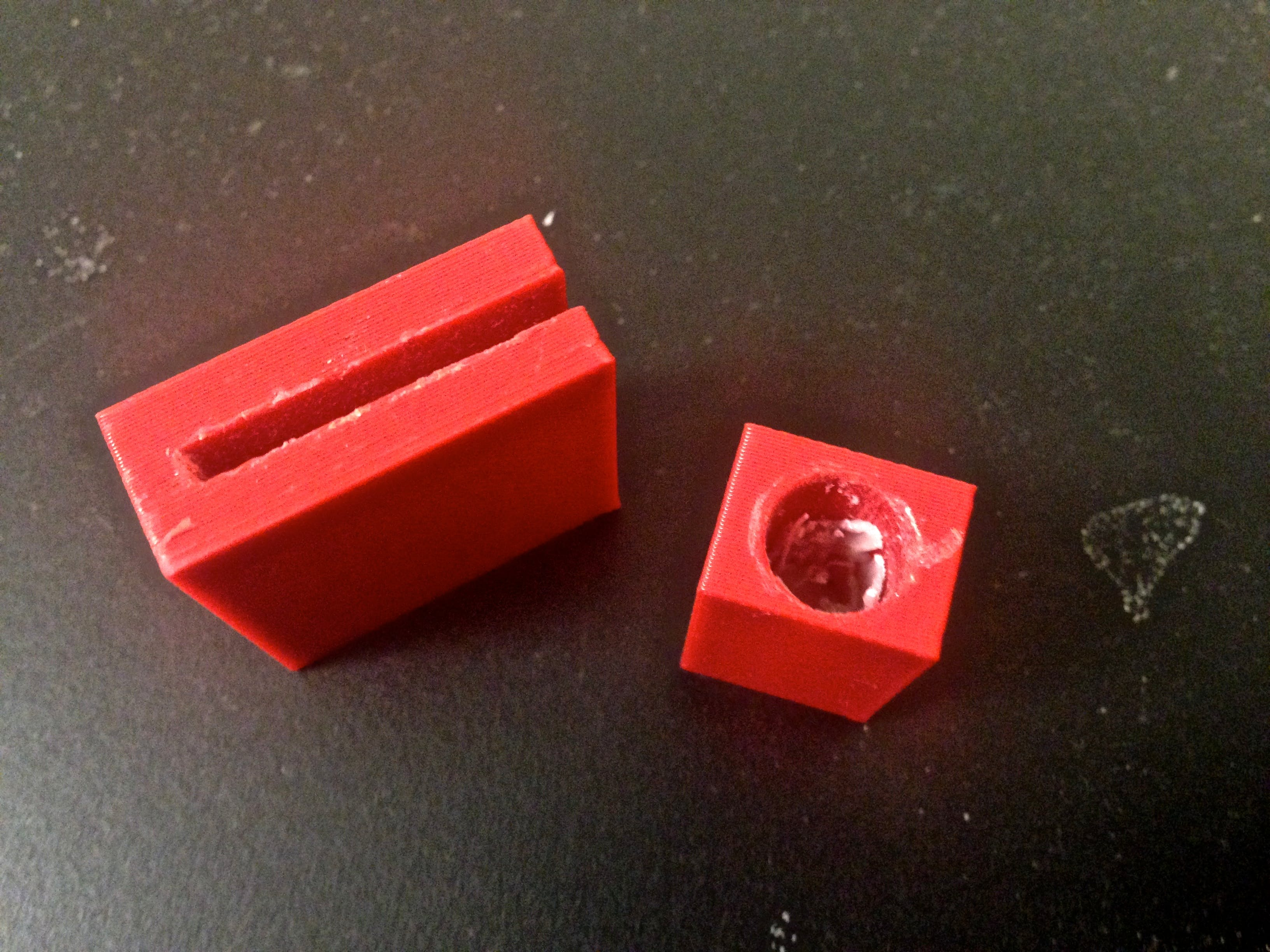 Notch for locking mechanism prototypes