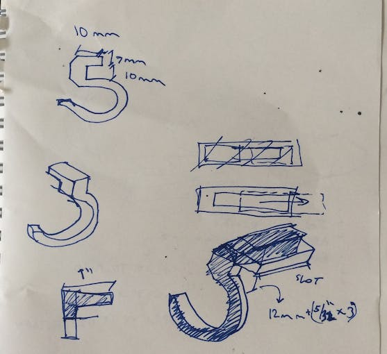 Designing the 3D printed clips