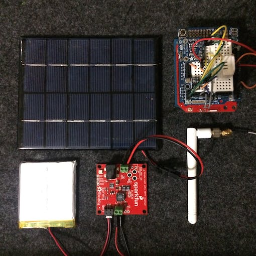 The makings of a WiFi weather station