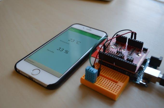 Ishield weather station arduino project hub