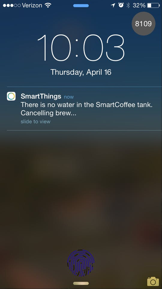 SmartCoffee - Powered by SmartThings - Hackster io
