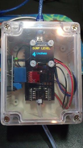 Sump Level Monitor