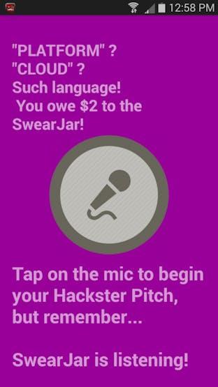 The SwearJar Android App