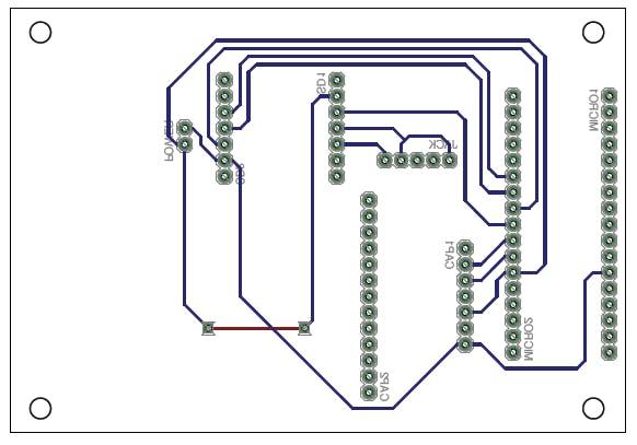Eagle PCB layout