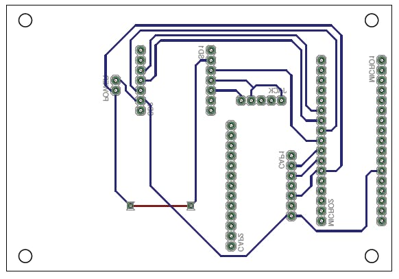 Eagle PCB layout