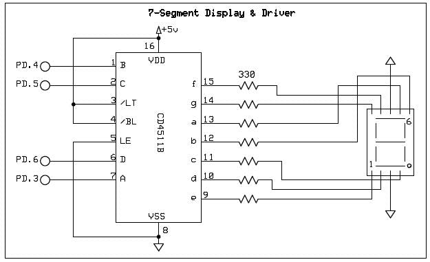 circuit diagram 7 segment display taiko trainer - hackster.io #5