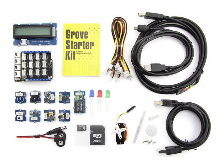 Grove starter kit plus for Intel Edison