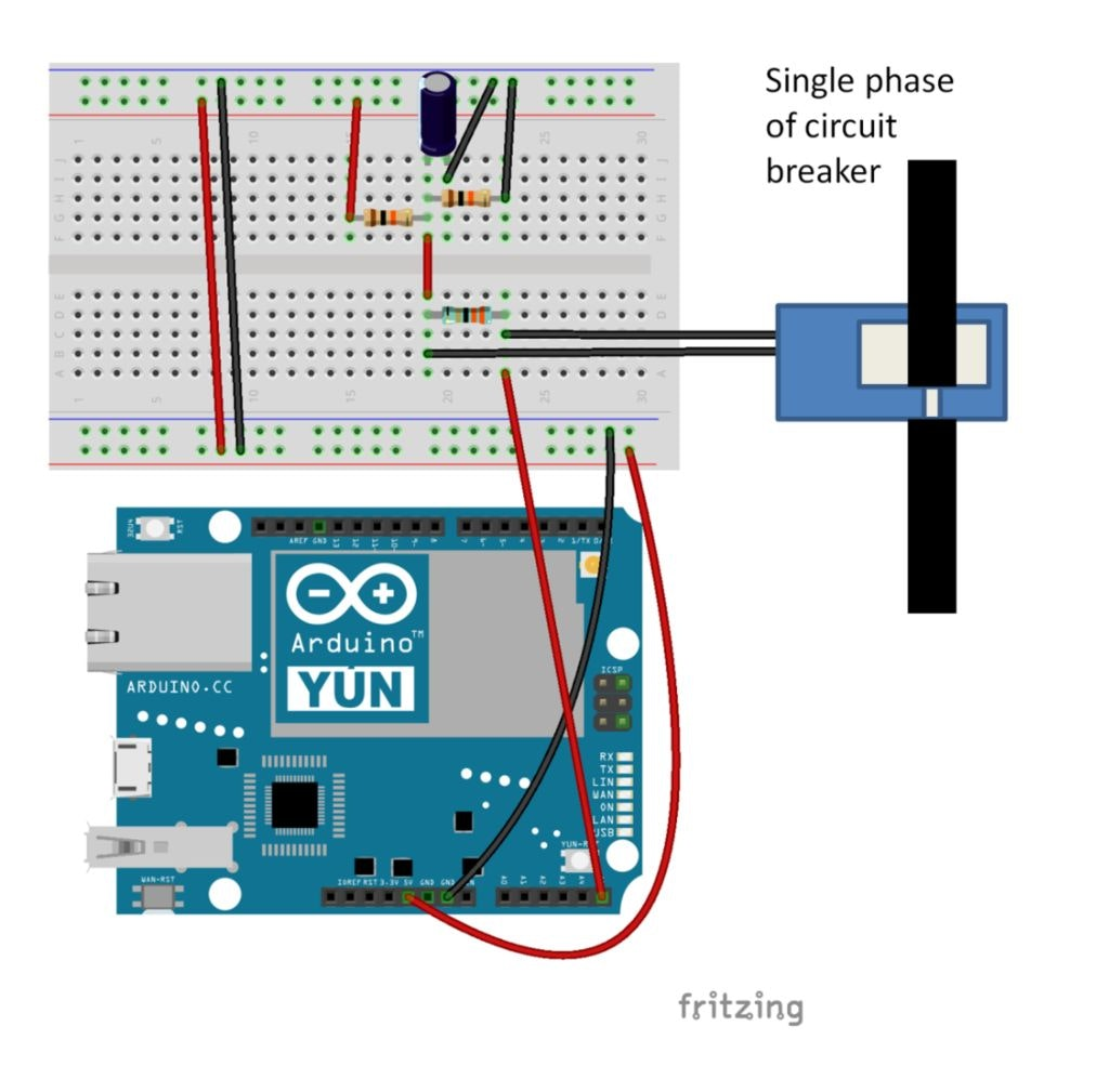 Arduino Single Phase Circuit Breaker - Wiring Diagram & Electricity ...