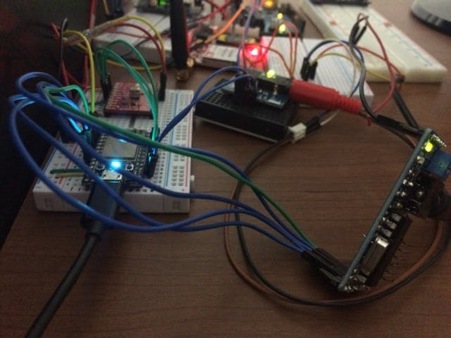 IVR system using Particle Core, GSM, Emic2 and DTMF Decoder
