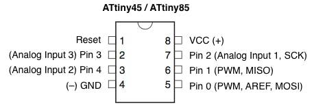 Programming ATtiny85 with Arduino Uno - Arduino Project Hub