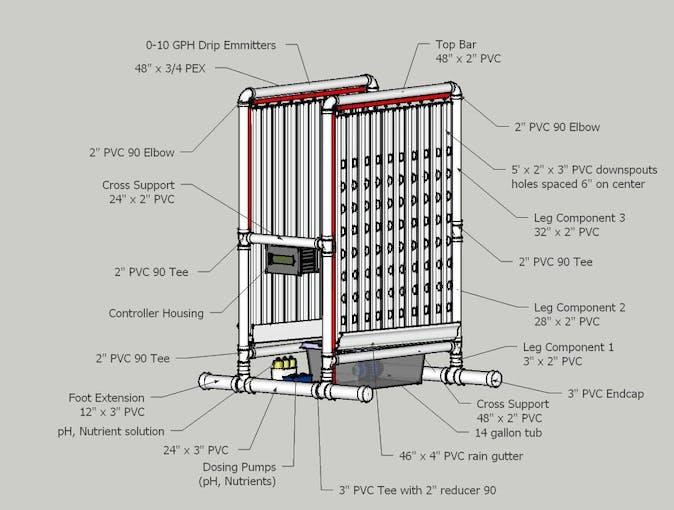 Vertical Hydroponic Farm Hackster Io