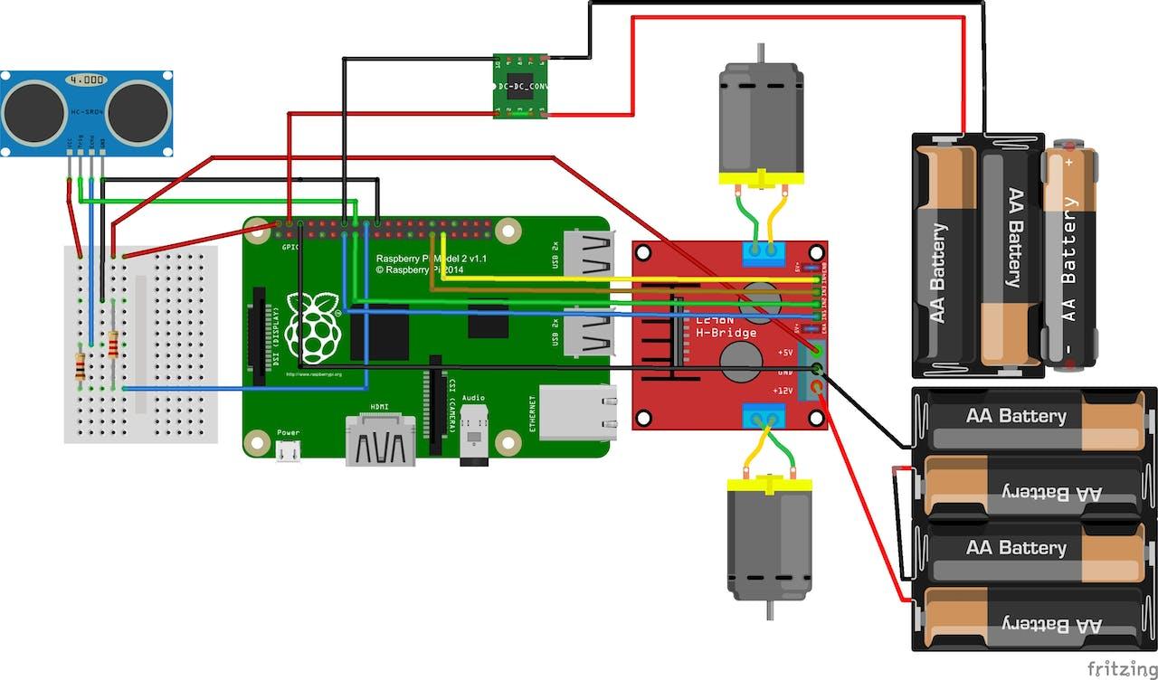 Rover Electronic Nose Circuit Diagram