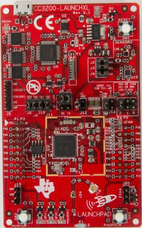 CC3200-LAUNCHXL LaunchPad