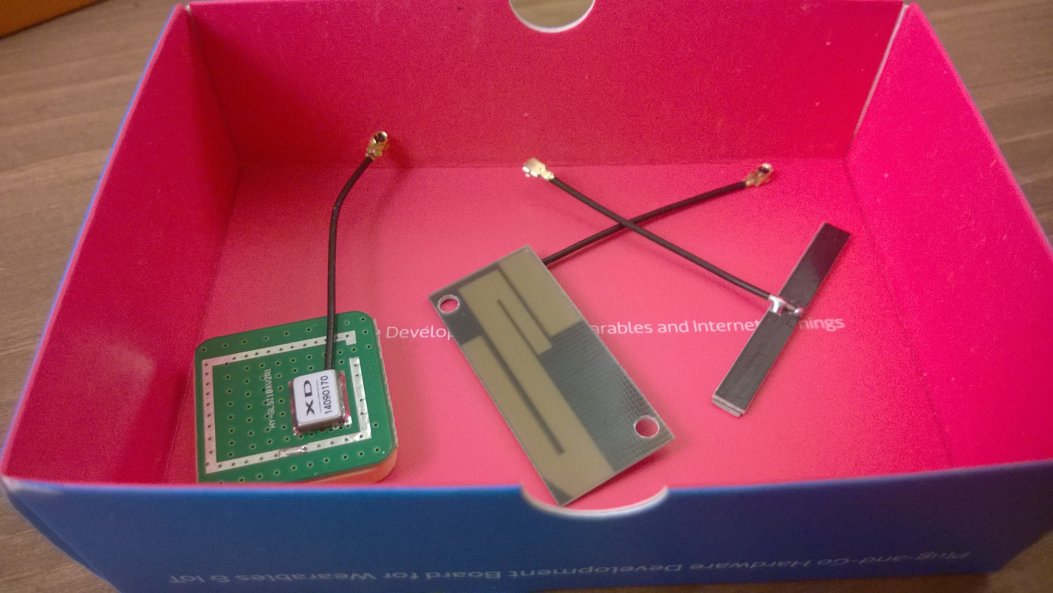 GPS, GSM Antenna, and WIFI/Bluetooth