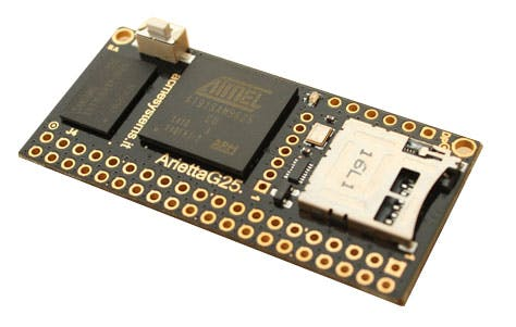 This is the board without the WiFi module. You can purchase both asking to have it already soldered for you.