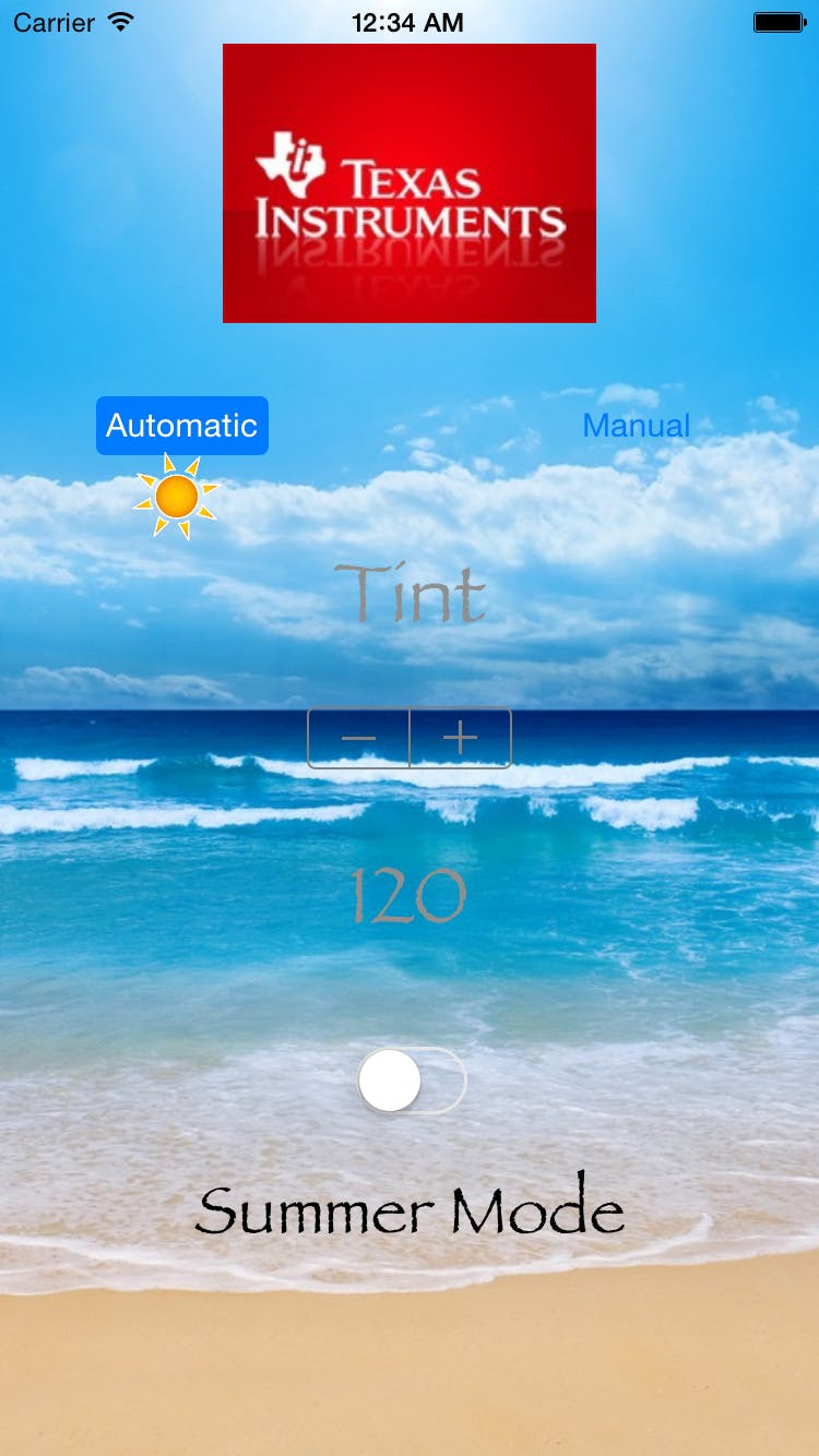 Application in Summer and Automatic Modes
