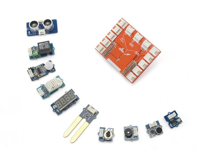 Grove Starter Kit for LaunchPad