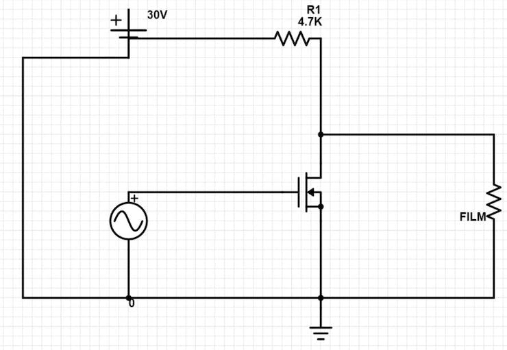 SmartWindow Circuit Design