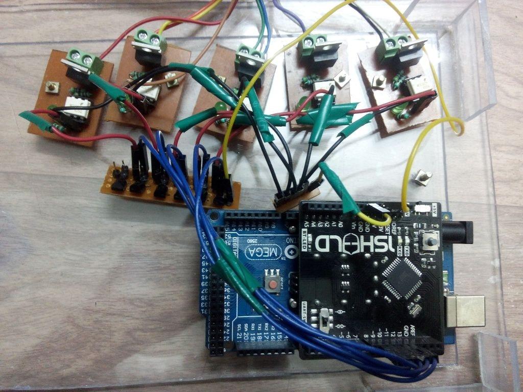 Bluetooth Based Smart Home Using Atmega8 Microcontroller