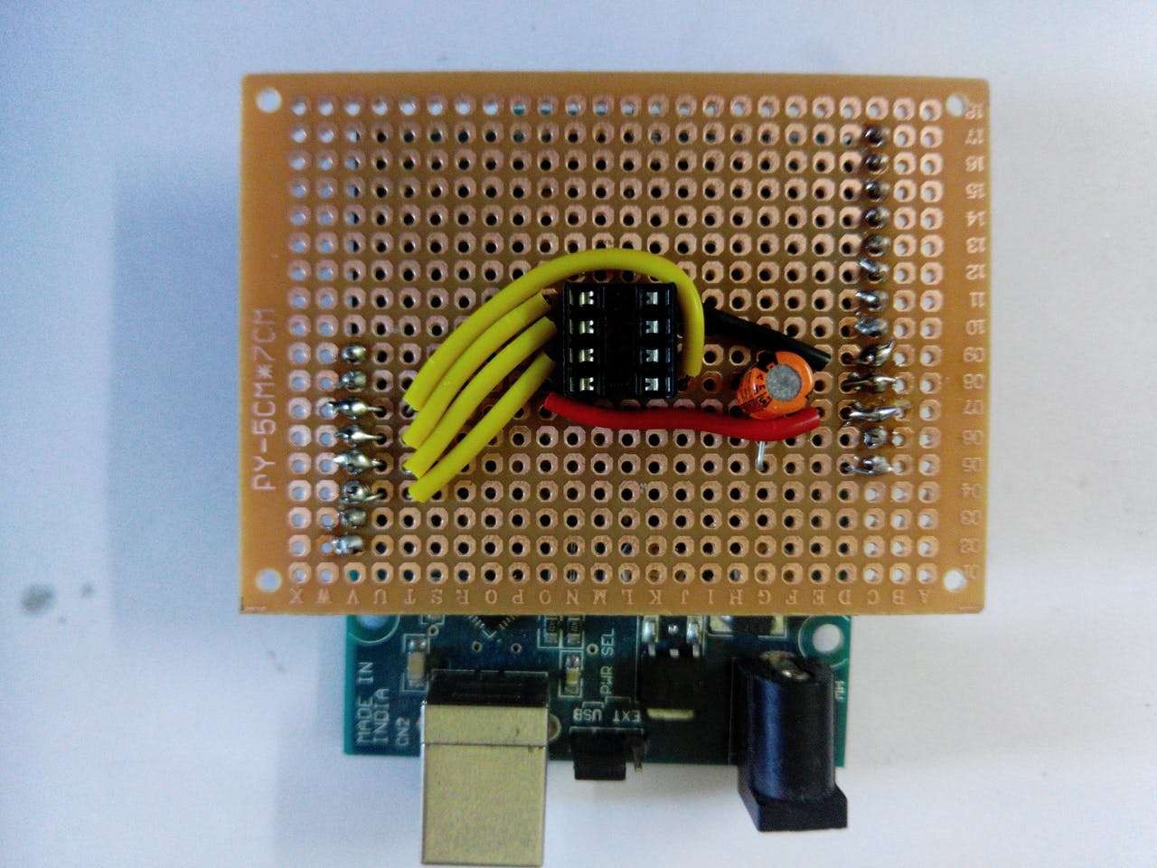 Programming Attiny85 With Arduino Uno Project Hub How To Make Custom Shields For A Microcontroller Board