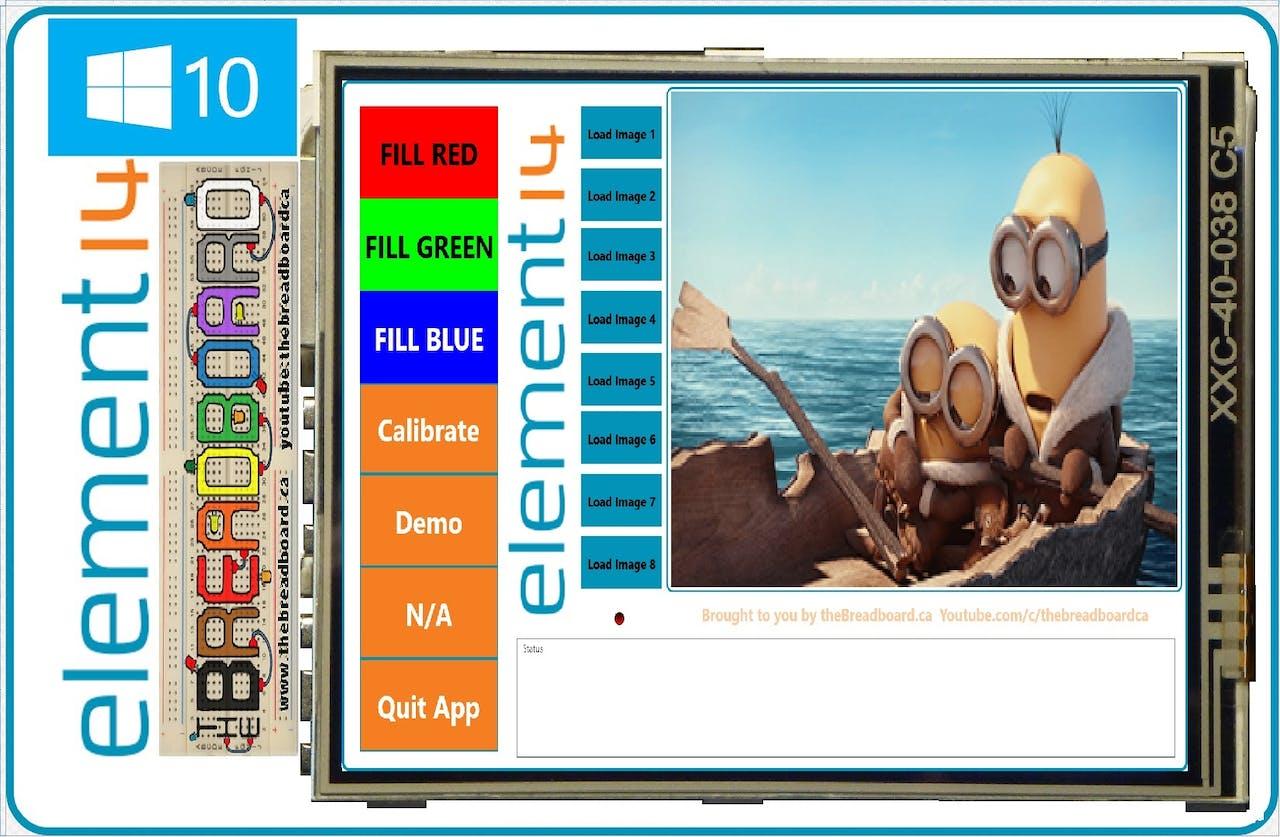 Raspberry Pi 2, 480*320 TFT LCD Displays Windows 10, SPI - Hackster io